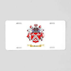 Meade Aluminum License Plate