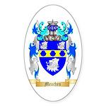 Meachen Sticker (Oval 50 pk)