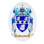 Meachen Oval Ornament