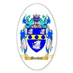 Meachem Sticker (Oval 50 pk)