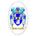 Meacham Sticker (Oval)
