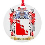 McWilliams Round Ornament