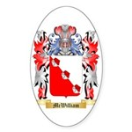McWilliam Sticker (Oval 50 pk)