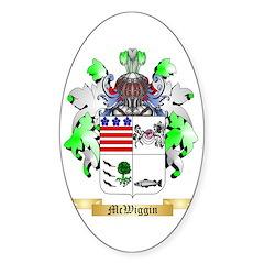 McWiggin Sticker (Oval 50 pk)