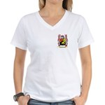 McWhorter Women's V-Neck T-Shirt