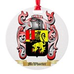 McWhorter Round Ornament