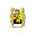 McWhirter Sticker (Rectangle 50 pk)