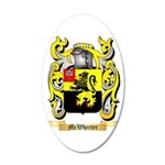 McWhirter 35x21 Oval Wall Decal