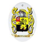 McWhirter Oval Ornament