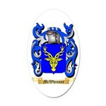 McWhinney Oval Car Magnet