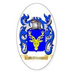 McWhinney Sticker (Oval 50 pk)