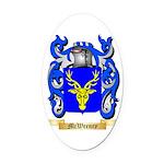 McWeeney Oval Car Magnet