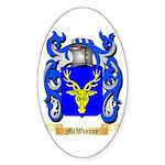 McWeeney Sticker (Oval 10 pk)