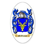 McWeeney Sticker (Oval 50 pk)