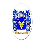 McWeeney 35x21 Oval Wall Decal