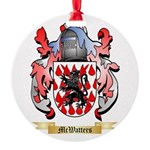 McWatters Round Ornament