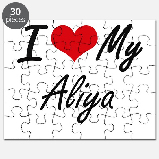 I love my Aliya Puzzle