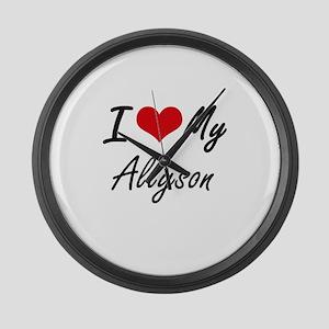 I love my Allyson Large Wall Clock