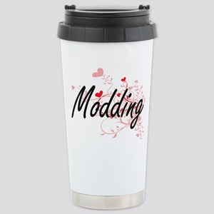 Modding Artistic Design Stainless Steel Travel Mug
