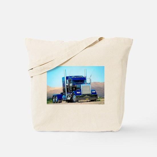 Unique Semi trucks Tote Bag