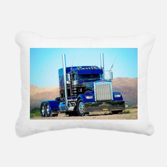 Cute Truck Rectangular Canvas Pillow