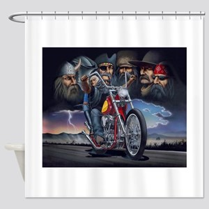 400 years Of Kings Of The Road Shower Curtain