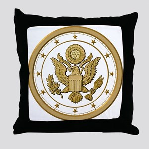 AMERICAN PATRIOT Throw Pillow