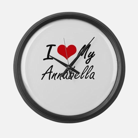 I love my Annabella Large Wall Clock