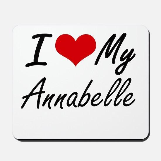 I love my Annabelle Mousepad