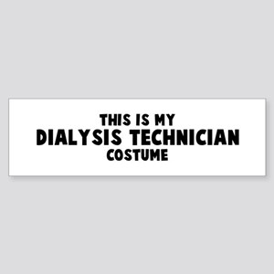 Dialysis Technician costume Bumper Sticker