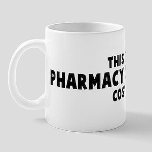 Pharmacy Technician costume Mug