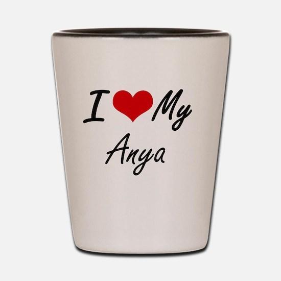 I love my Anya Shot Glass