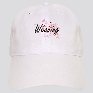 Weaving Artistic Design with Hearts Cap