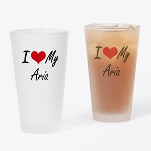 I love my Aria Drinking Glass