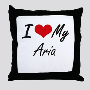I love my Aria Throw Pillow
