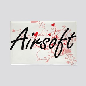 Airsoft Artistic Design with Hearts Magnets