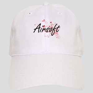 Airsoft Artistic Design with Hearts Cap