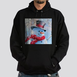 Snowman in the Woods Hoodie