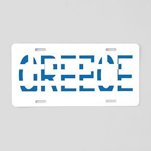 GREECE Aluminum License Plate