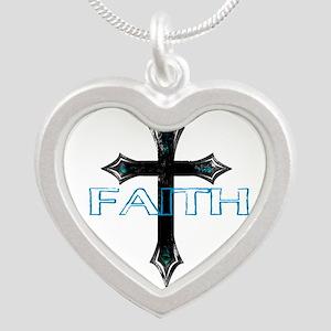 CROSS FAITH BLACK TURQUOISE Necklaces