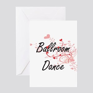 Ballroom Dance Artistic Design with Greeting Cards