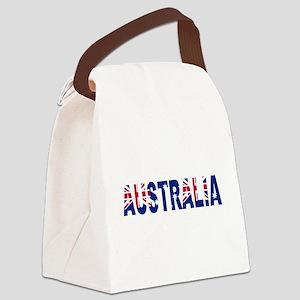 Australia Canvas Lunch Bag