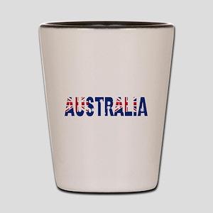 Australia Shot Glass