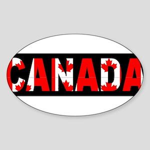 CANADA-BLACK Sticker
