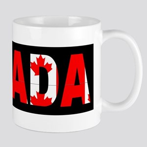 CANADA-BLACK Mugs