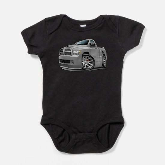SRT10 Grey Truck Infant Bodysuit Body Suit