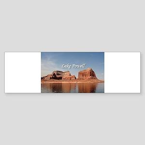 Lake Powell, Glen Canyon, Arizona/U Bumper Sticker