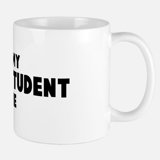 Business Student costume Mug