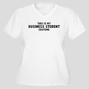 Business Student costume Women's Plus Size V-Neck