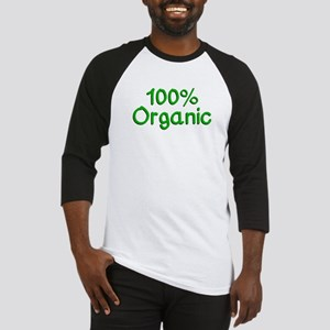 100 % Organic Baseball Jersey